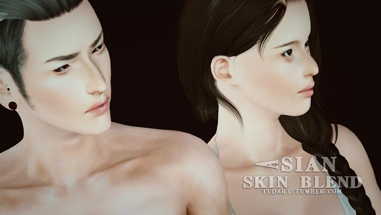 Asian skin blend by Tudart