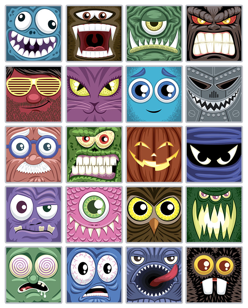 Monsters Prints by Cassie