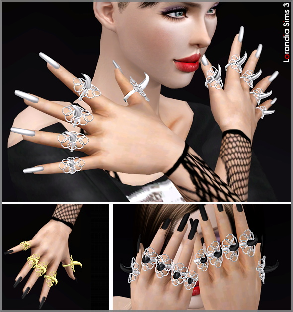 Statement Creature Claw Rings by Lore