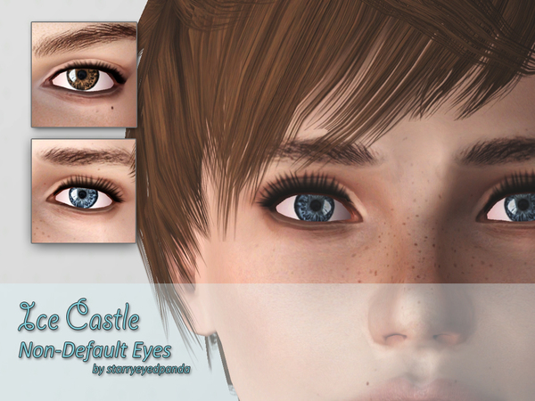 Ice Castle v1 - Non-Default HD Eyes by starryeyedpanda
