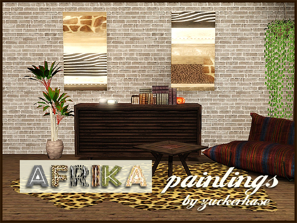 Africa paintings by Zucherhase