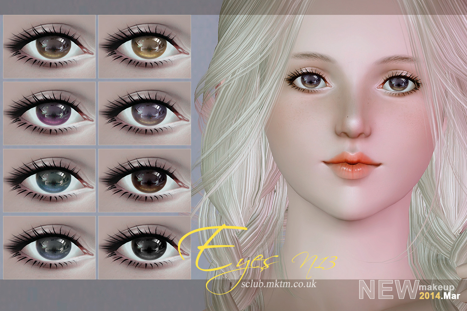Eyes-n13 Default & Non Default by S-Club