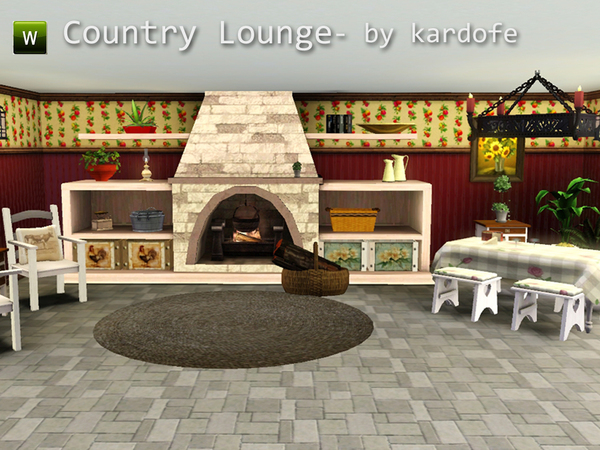 Country Lounge by kardofe