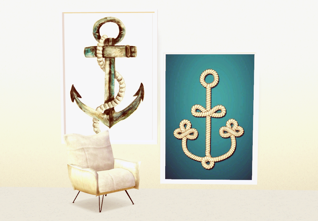 Anchor Themed Poster Pack by fatboatsims