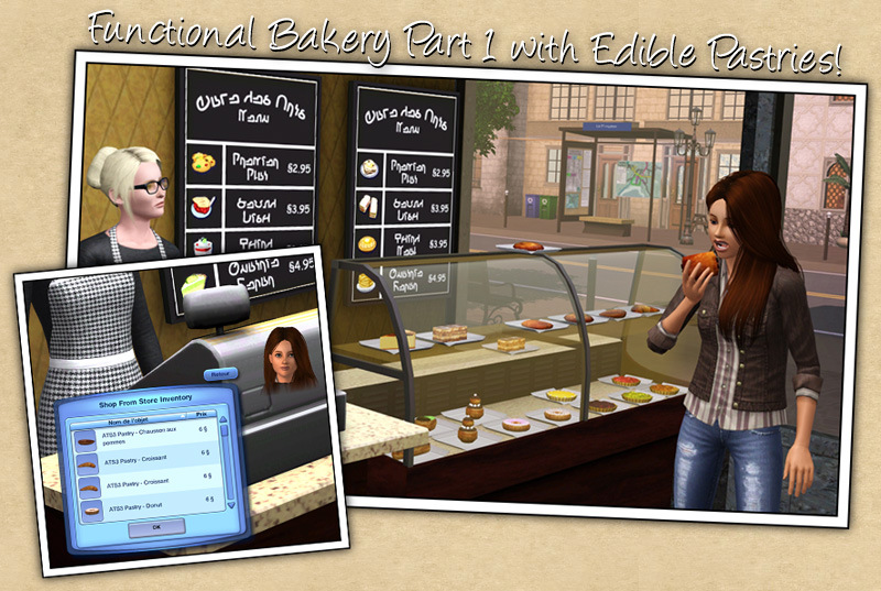 Add-ons for the Bakery set by Sandy