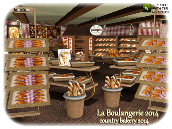 Countryside Bakery 2014 ( farms and countryside theme) by jomsims