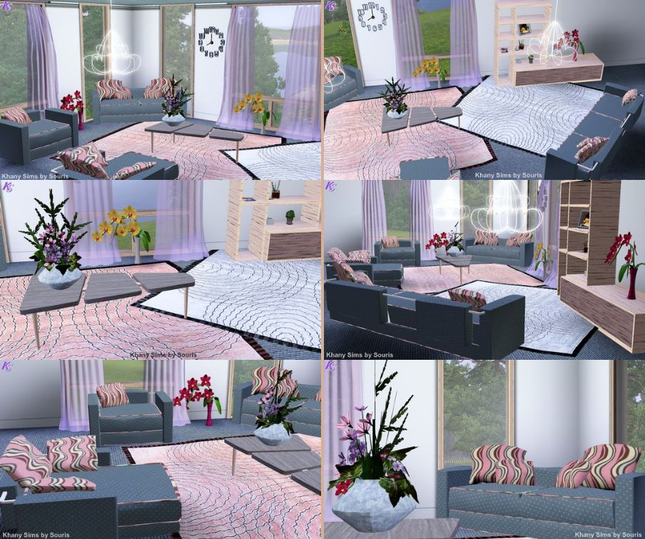 Szary Living Set by Souris