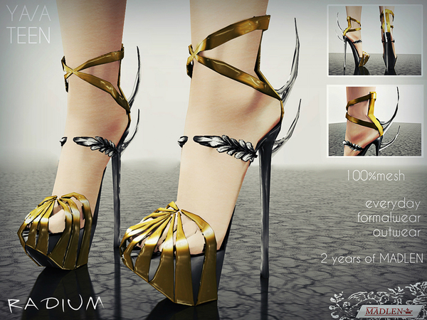 Madlen Radium Shoes by MJ95