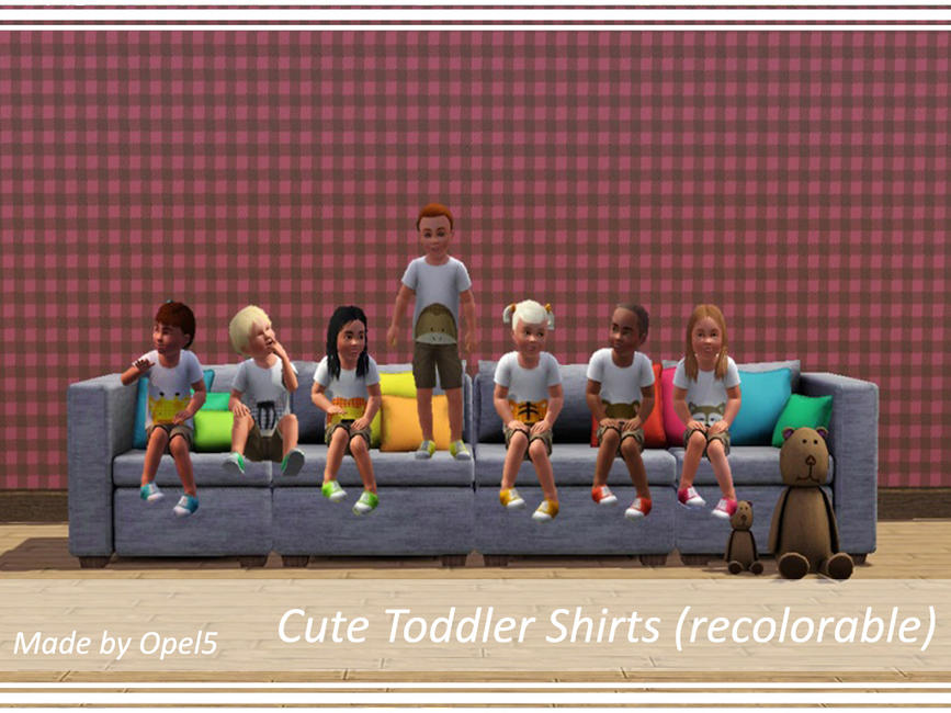 Cute Toddler Shirts by opel5