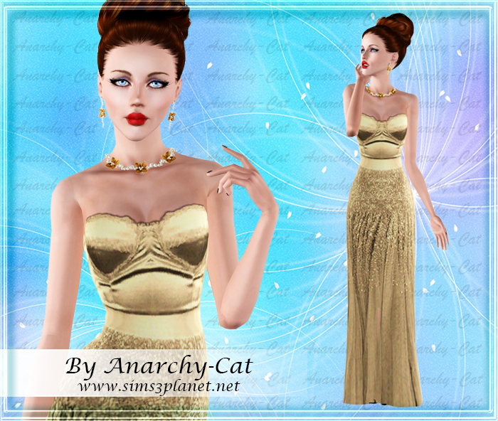 Dress Miley Cyrus by Anarchy-Cat