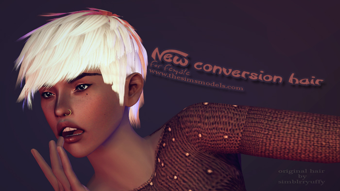 New Conversion Hair by TUDART