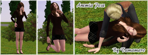 Anemia Pose by Tamamaro