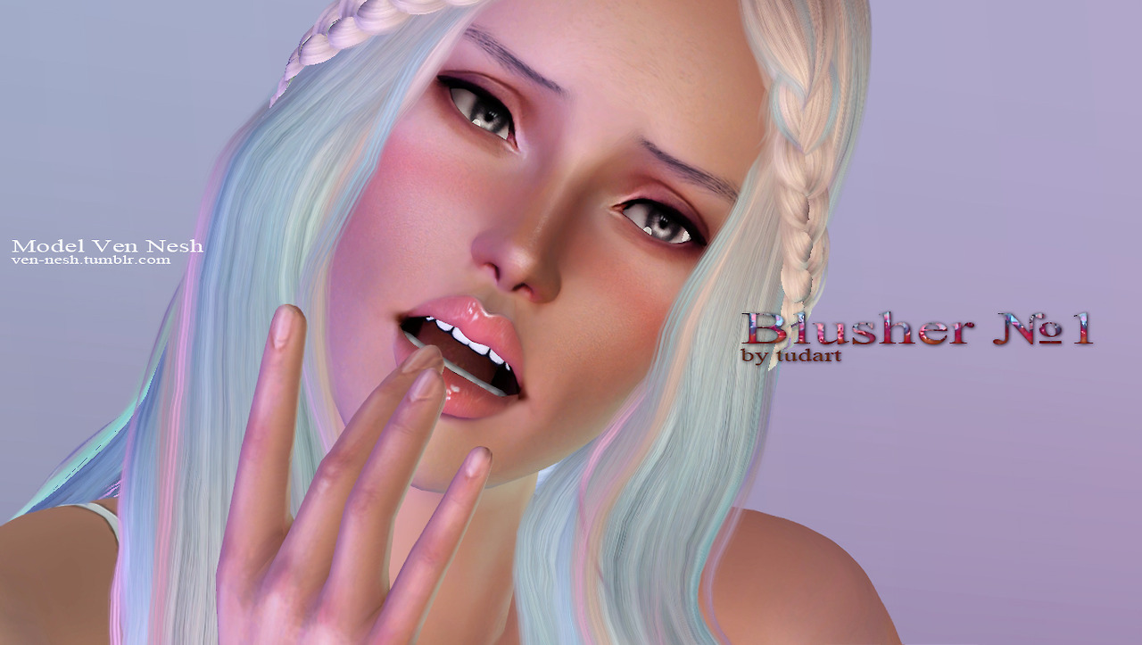 Blusher N1 by TUDART