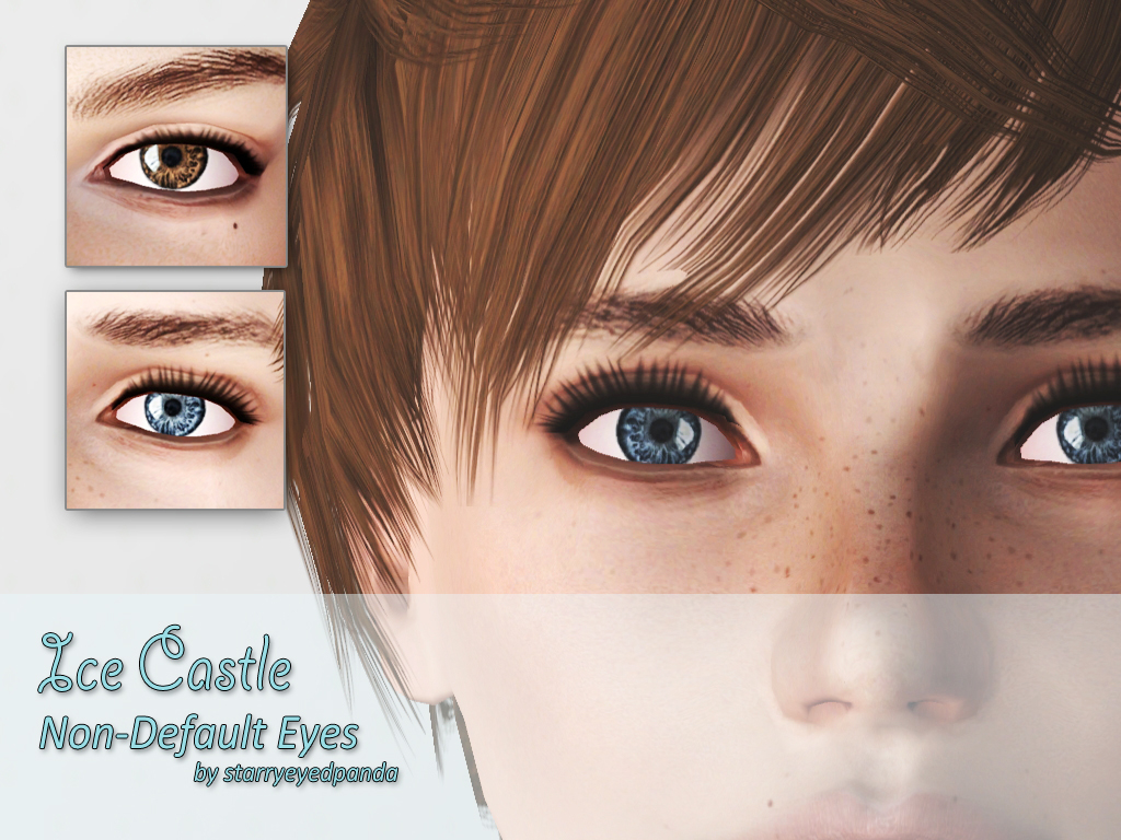 Ice Castle - Non-Default HD Eyes by FrozenHalcyon