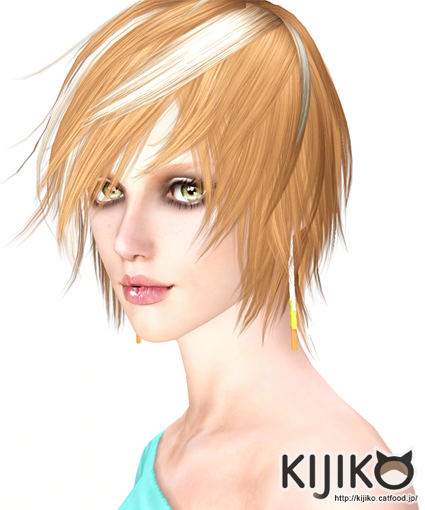 Toyger Kitten Hair for Males & Females by Kijiko
