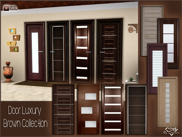 Door Luxury Brown Collection by Devirose