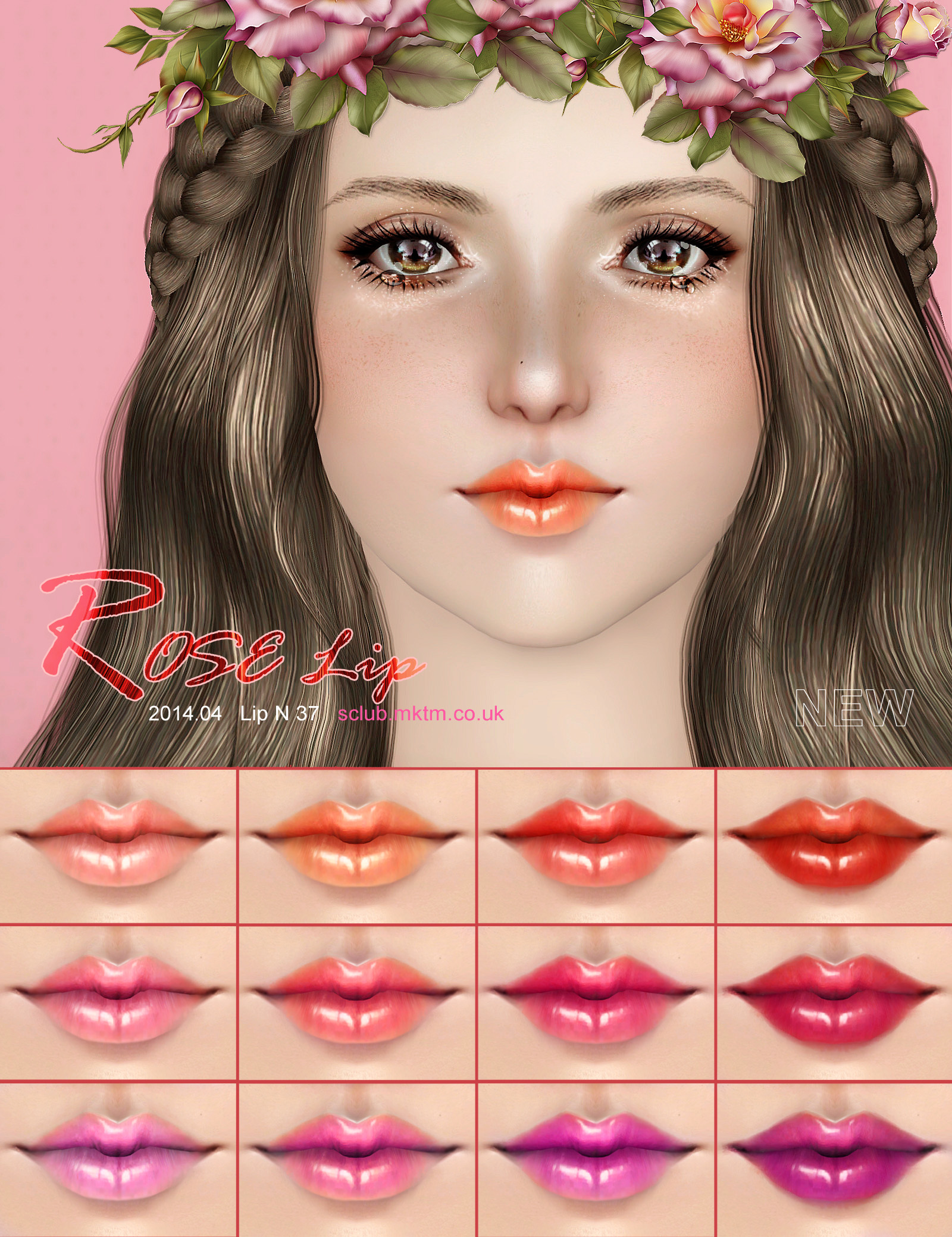 Lipstick N37 by S-Club
