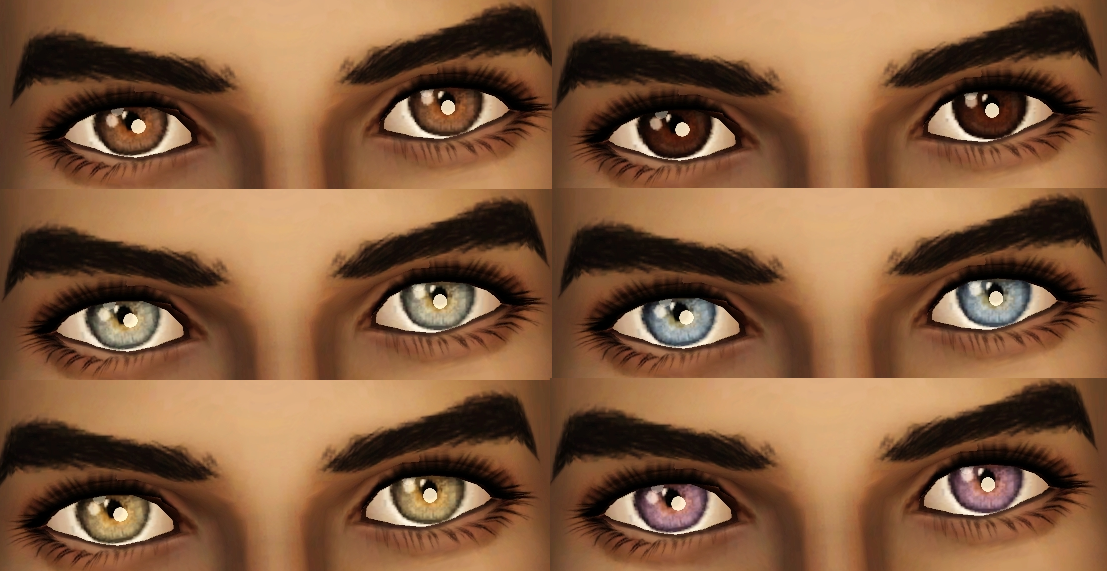 Default Replacement Eyes by Procrasimnation