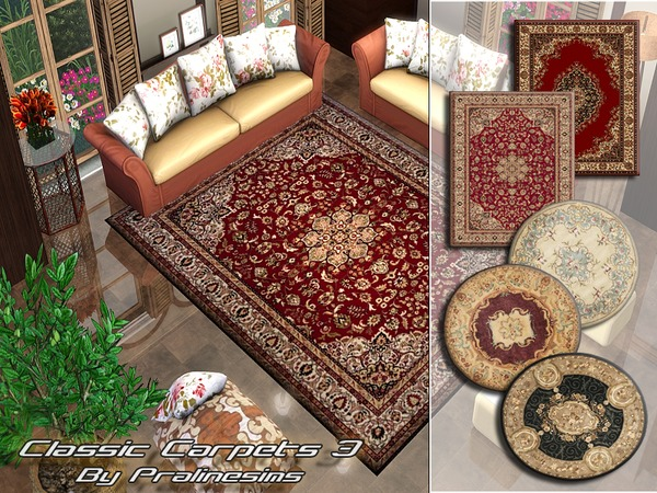 Classic Carpets 3 by Pralinesims