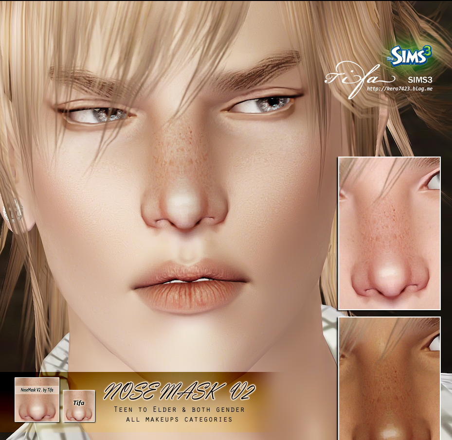 Nose Mask V2 by Tifa