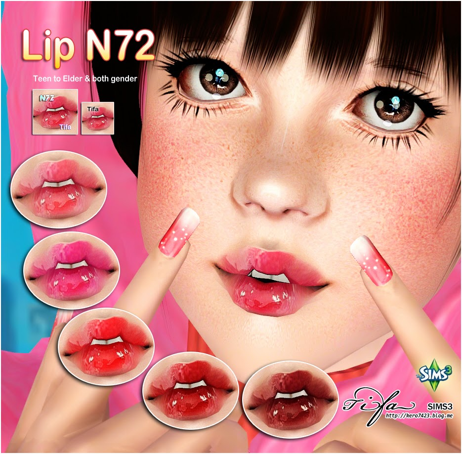 Lip N72 by Tifa