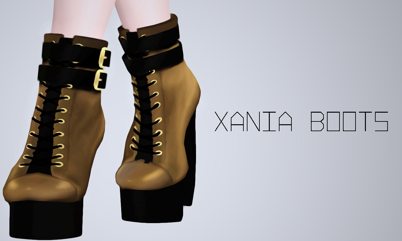 Xania Boots by simonstercity