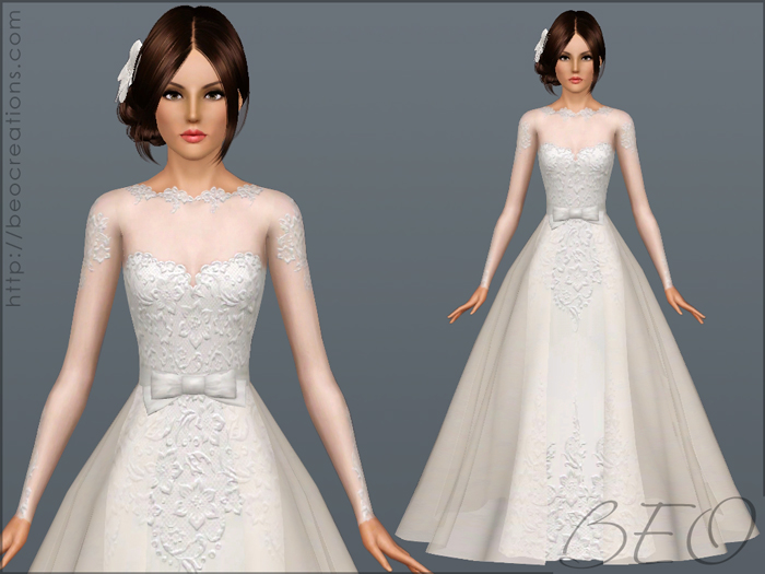 Wedding dress 28 by BEO