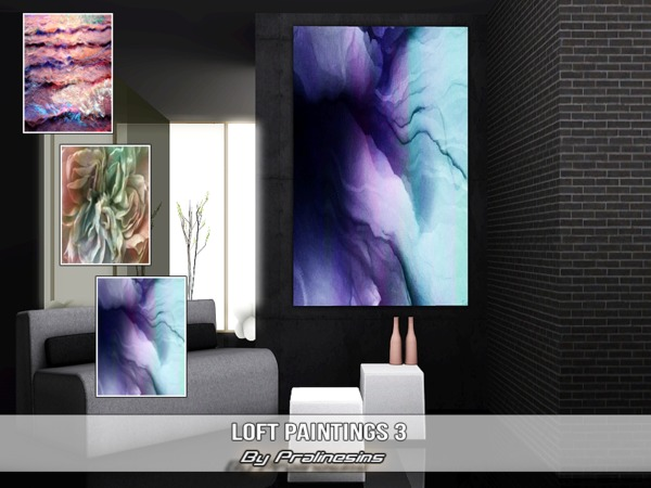 Loft Paintings 3 by Pralinesims