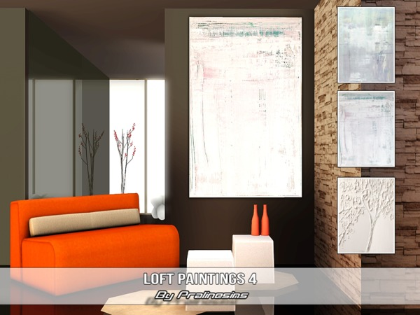 Loft Paintings 4 by Pralinesims