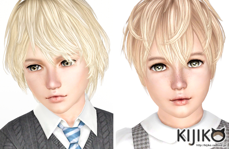 Korat and Burmese Hair for Kids by Kijiko