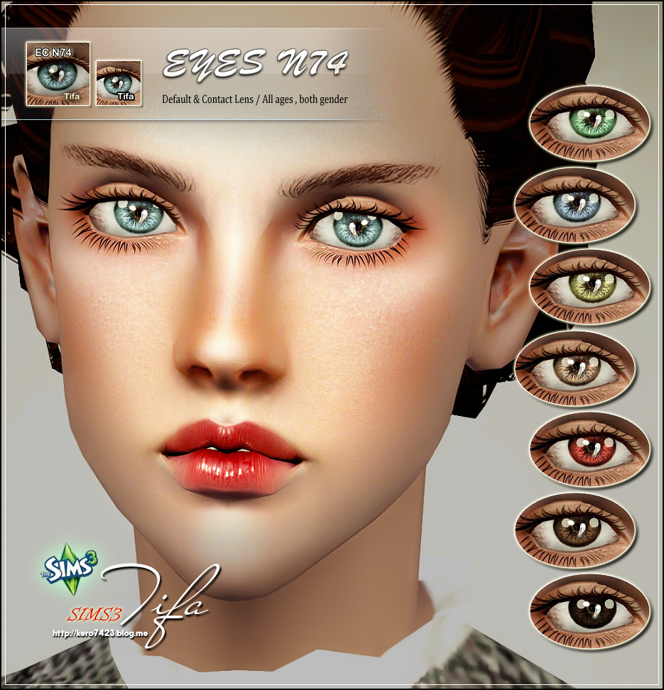 Eyes N74 by Tifa