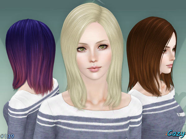 Liz - Hairstyle Set by Cazy