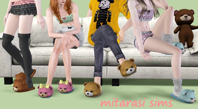 Slippers for Teens & Adults + Decorative Versions by Mitarasi