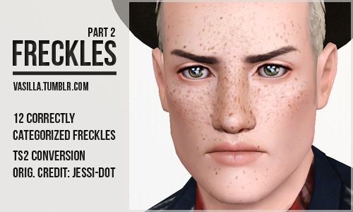Freckles Part 2 by Vasilla