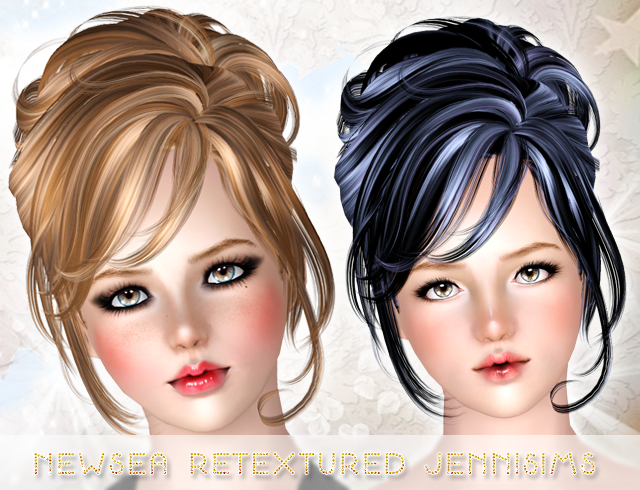 Newsea Hair Crescent retextured All ages by Jennisims