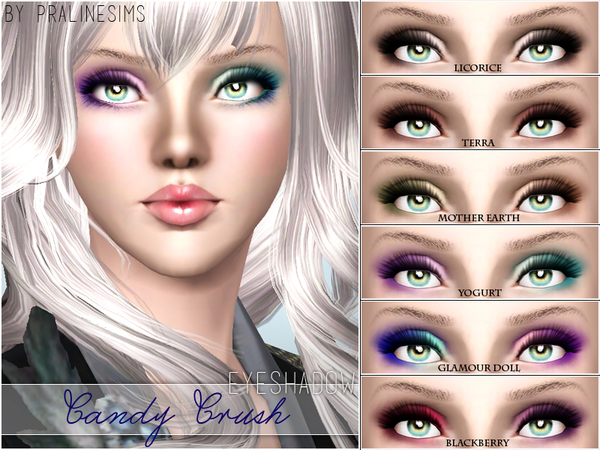 Candy Crush Eyeshadow by Pralinesims