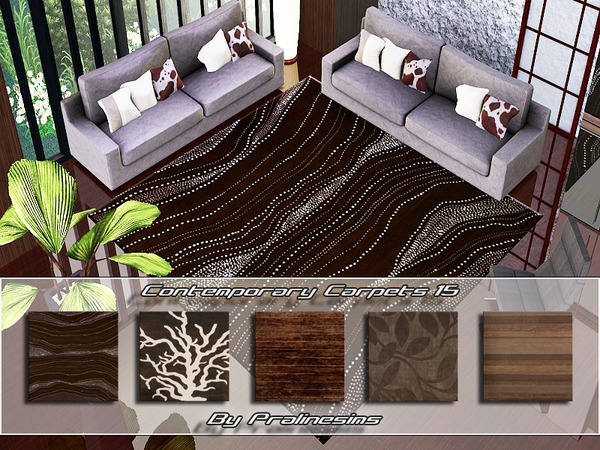 Contemporary Carpets 15 by Pralinesims
