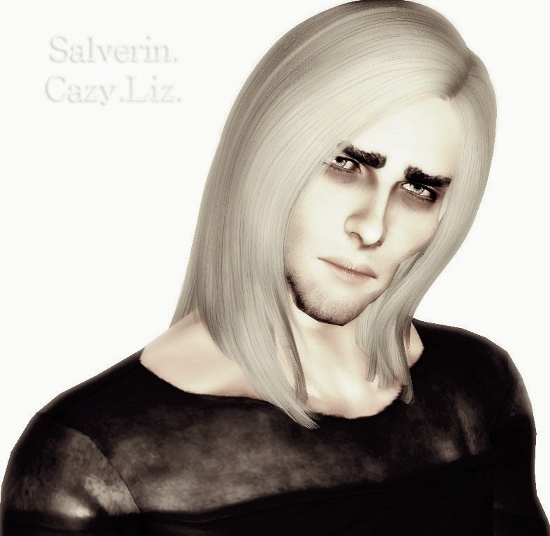 Cazy Liz hairstyle converted for males by Salverin