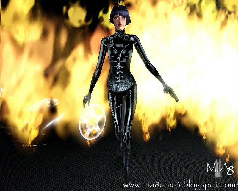 6 poses with weapon in left hand by Mia8
