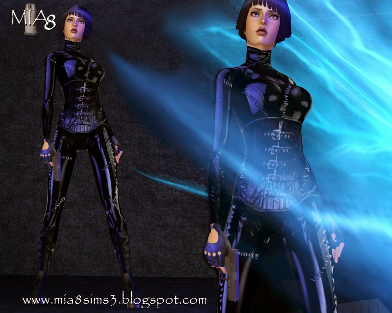 6 poses with weapon in right hand by Mia8