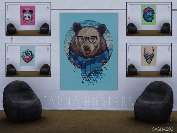 Fauna Hipsters. Posters. by sashas93