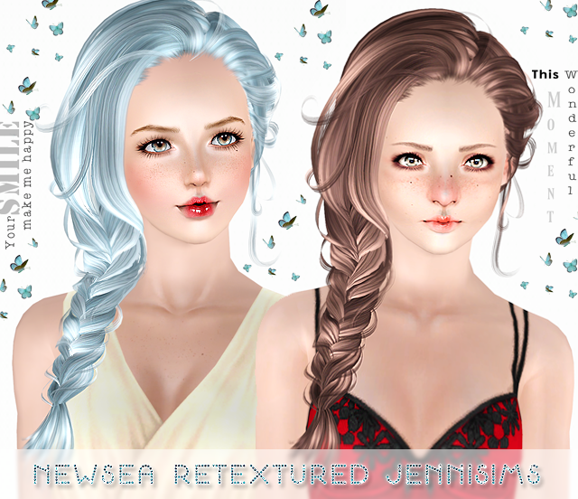Newsea Hair Erena retextured All ages by Jenni