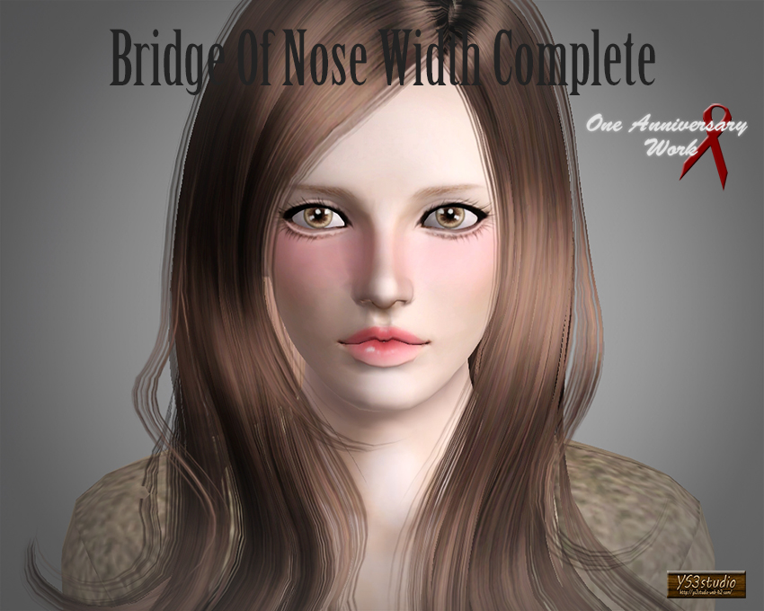 Bridge of Nose Width Complete by YS3Studio