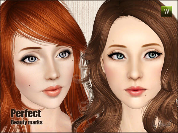 Perfect beauty marks by Gosik