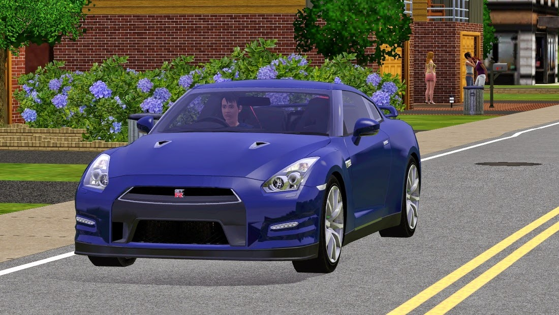 2013 Nissan GT-R Black Edition by Craftsle