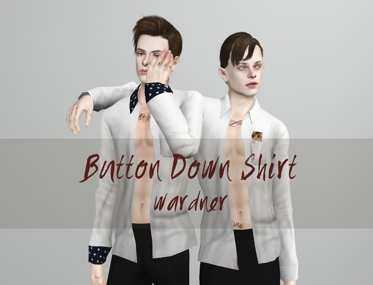 Button down shirts by wardner