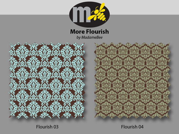 Flourish 3&4 by MadameBee