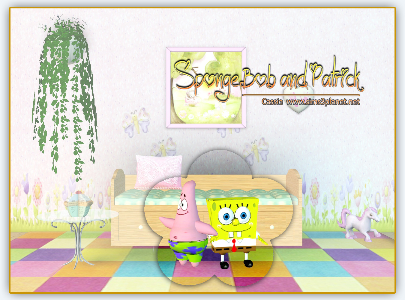 SpongeBob and Patrick by Cassie
