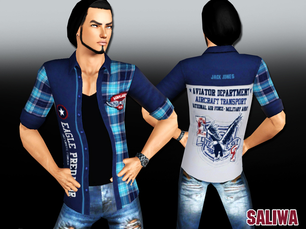 Eagle Predator Shirt by Saliwa