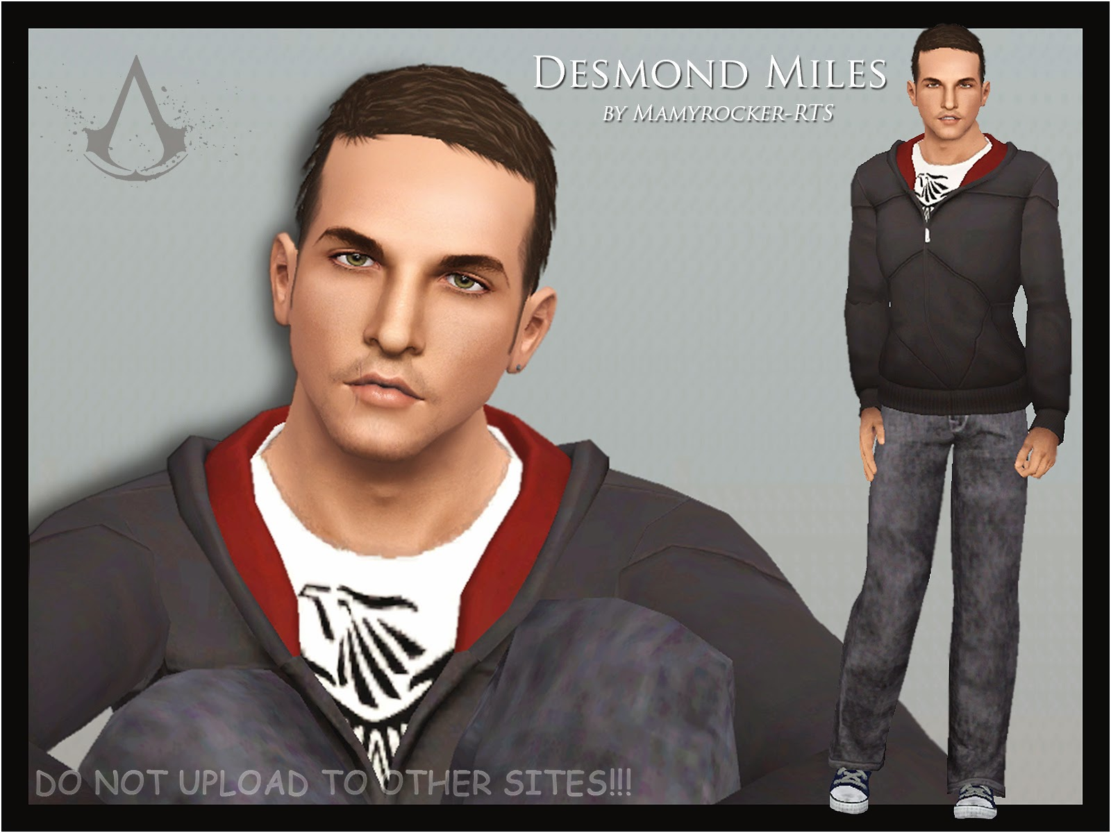 DESMOND MILES AssasSims Creed by Mamyrocker